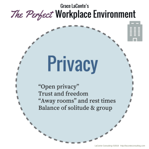Perfect Work Environment - Privacy