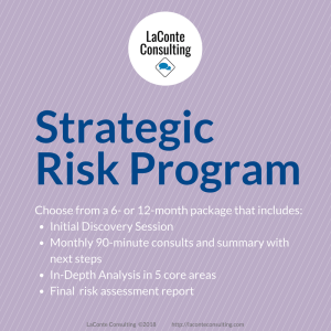 strategic risk, strategic risk program, risk management, risk assessment, risk evaluation, strategic consultation, strategic analysis