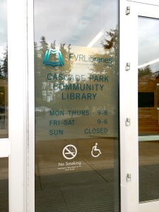 new workspace, new workplace, library, community library, Cascade Park Community Library, Minimalist Manager