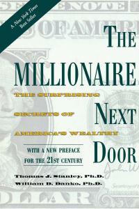 millionaire, Millionaire Next Door, wealthy, wealth, wealth building, wealth secrets, Thomas Stanley, William Danko