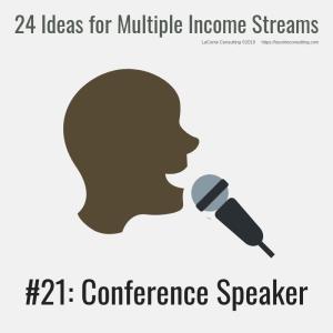 multiple income, multiple income streams, conference speaker, professional speaker, profit, profit margins, income streams, profit streams, strategic risk, strategic marketing, marketing