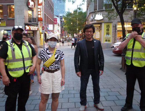 La patrouille du Quartier chinois est-elle une bonne solution pour protéger la communauté ?