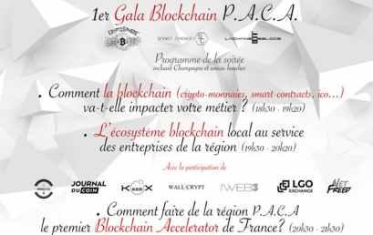 1ier GALA Blockchain P.A.C.A.