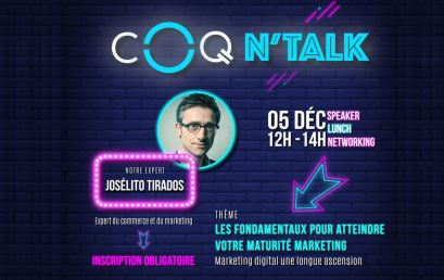 COQ N'Talk spécial Stratégie Digitale Marketing