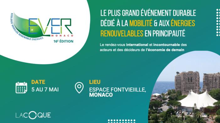 Start-ups ! Réservez votre stand sur le salon Ever Monaco 2021 !