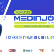 Medinjob est de retour avec un nouveau format : les 48h de l'Emploi & de la Formation !