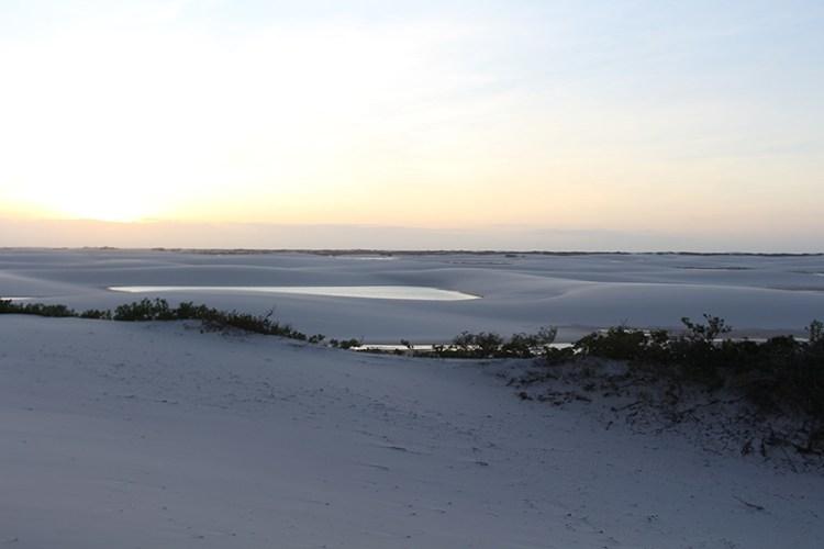 lençois maranhenses coucher de soleil
