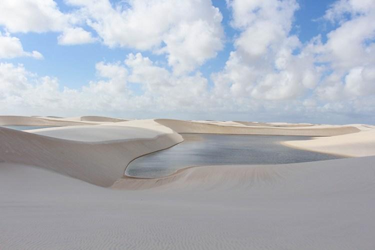 trek lençois brésil dune de sable