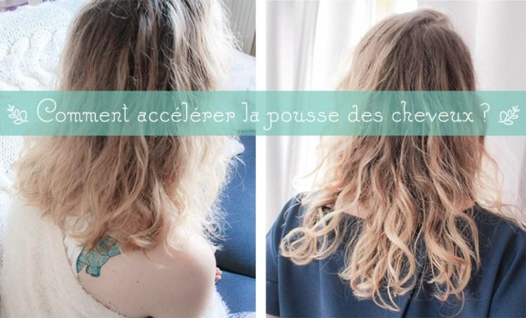 comment accélérer la pousse des cheveux naturellement ?
