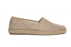 espadrille vegan dorée grand step shoes