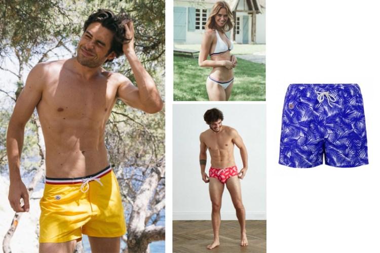 maillots de bain éthiques et écologiques pour hommes leslip français