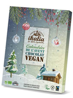 calendrier de l'avent vegan commerce equitable