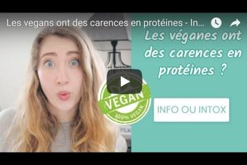 les vegans ont des carences en protéines