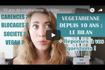 bilan vegetarisme vegan 10 ans