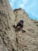 1er. Llarg. Diedre força vertical i mantingut