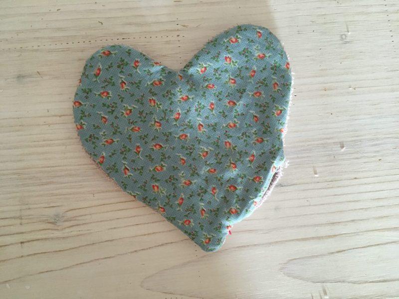 lingettes démaquillantes coeur