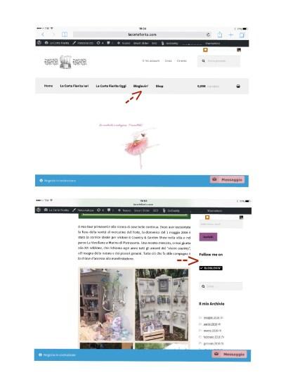 Bloglovin' Follow Button La Corte Fiorita