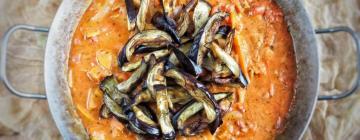Sałatka z łososiem z kaszą kuskus