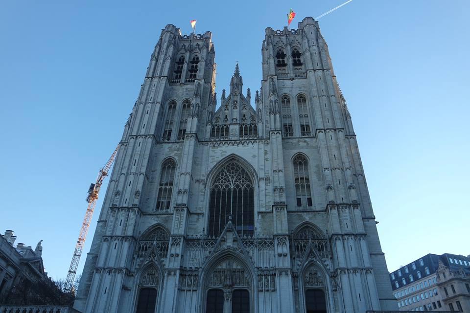 Catedral de San Michel, un fin de semana en Bruselas
