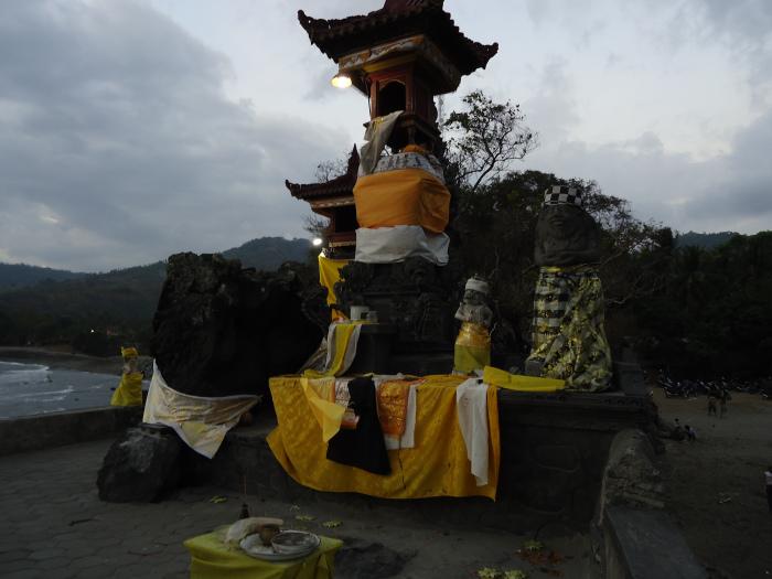 Templo hindú en Lombok