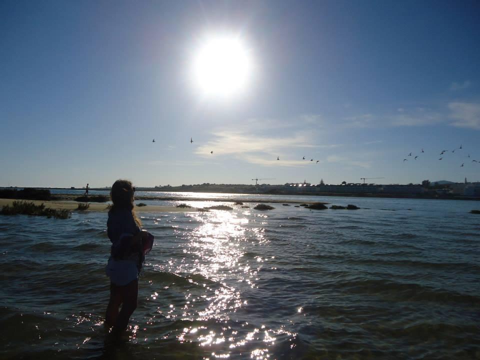 Atardecer en El Algarve, Portugal