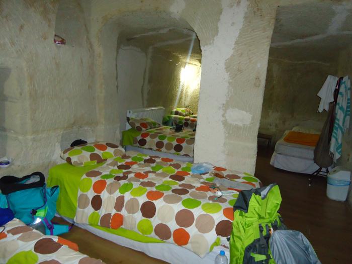 Hostel casa - cueva en la Capadocia
