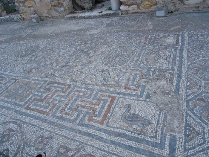 Mosaicos de las villas