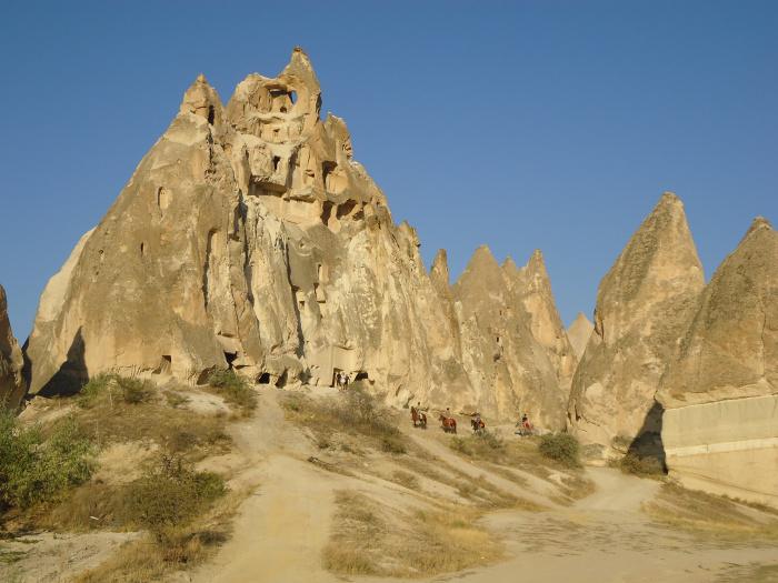 Valles de la Capadocia
