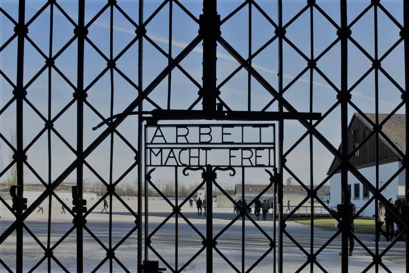 Entrada a Dachau, Munich
