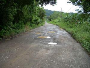 Charcos en el camino, Costa Rica