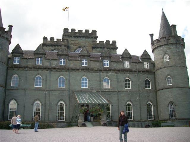 Castillo de Inveraray, los pueblos más bonitos de Escocia