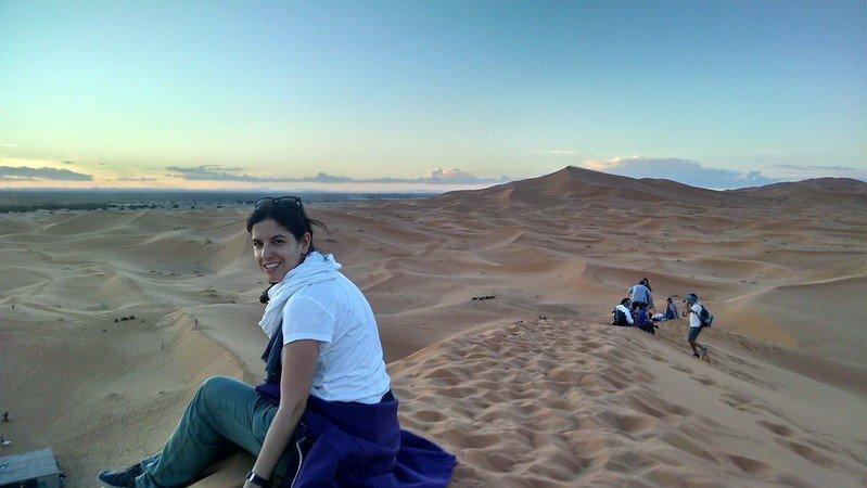 Ruta por el sur de Marruecos, sur de Merzouga
