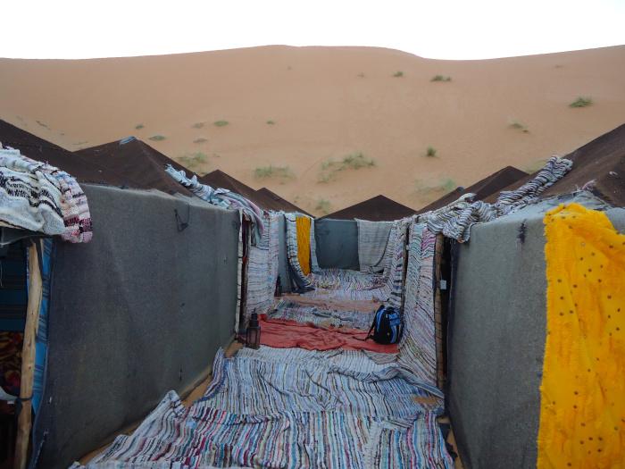 Campamento del desierto