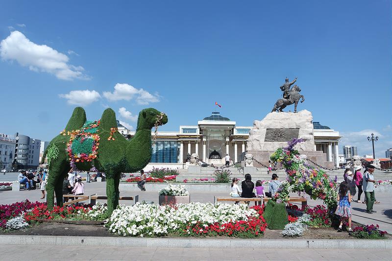 Plaza Sükhbaatar, qué ver en Mongolia