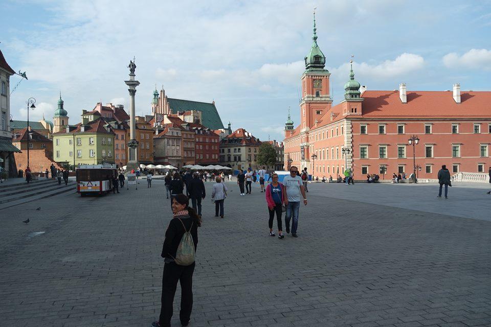 Un día en Varsovia