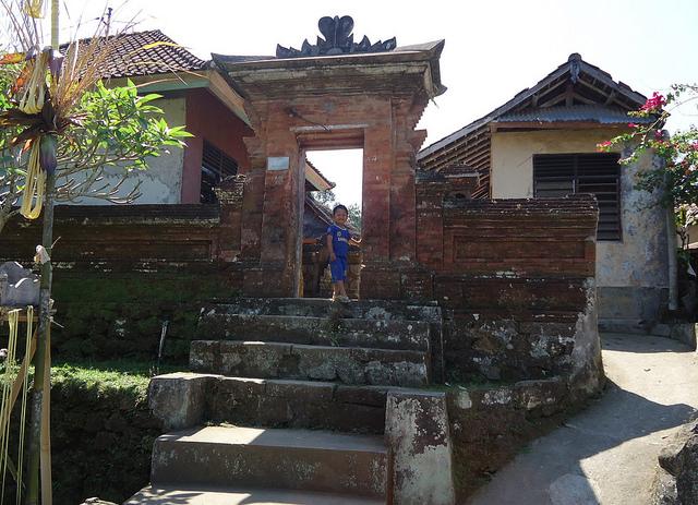 Aldea al norte de Ubud