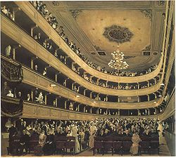 La sala, Klimt.