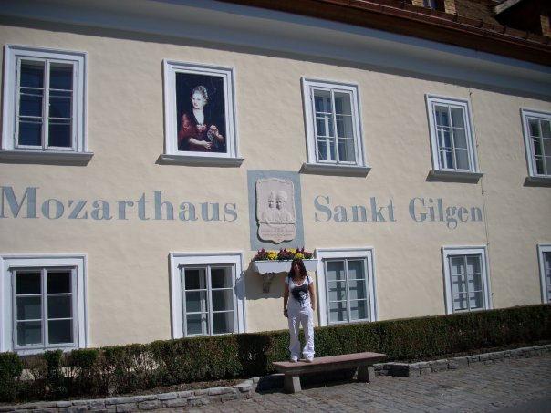 Sankt Gilgen, ruta de Mozart en Austria
