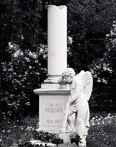 Tumba de Mozart en Viena