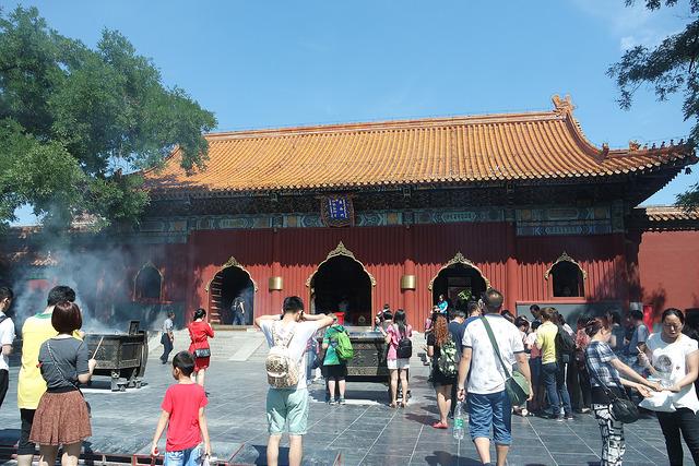 Templo de los Lamas, el gran buda de Beijing