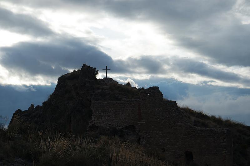 El castillo de Soraya en Mondújar, valle de Lecrín, Granada