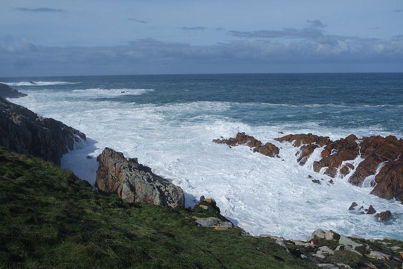 Mar bravo de A Coruña