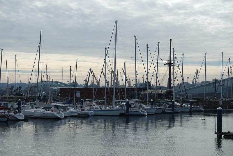 Veleros, puerto de A Coruña