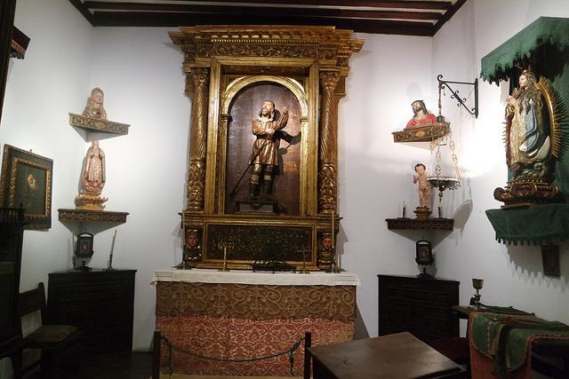 Capilla con San Isidro