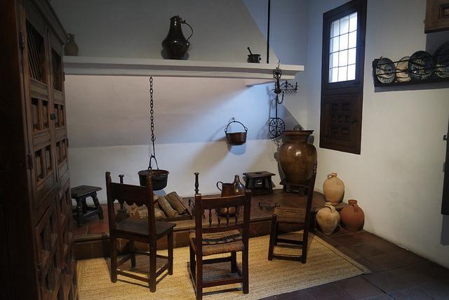 Cocina castellana, Casa Museo de Lope de Vega en Madrid