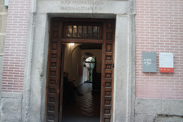 Entrada a la Casa Museo Lope de Vega