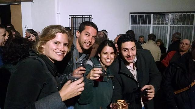 Fiesta del vino en Frailes