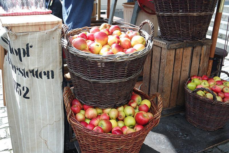 Manzanas, mercado de Rotemburgo