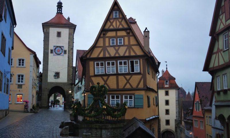 Rotemburgo, un pueblo de cuento en Alemania