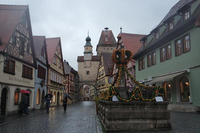 Rothenburg, Romántica Alemania